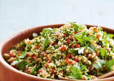 Tabbouleh: €5/person