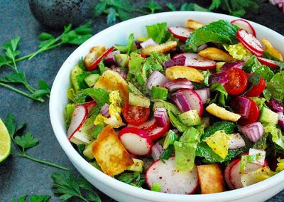 Fattoush: €5 per person
